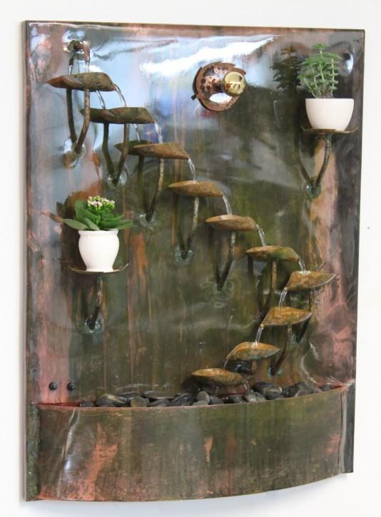 Wandbrunnen Kupfer Bea