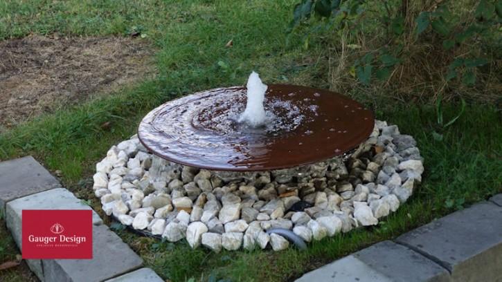 Wasserschale Cortenstahl Samuela