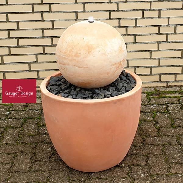 Terrakotta Terrassenbrunnen Lorenzo