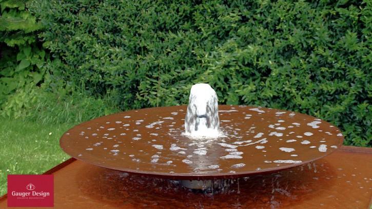 Wasserschale Cortenstahl Macarano