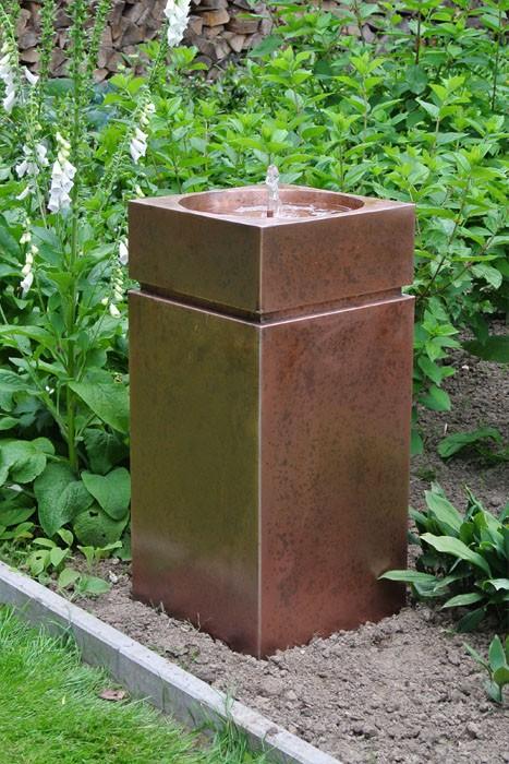 Gartenbrunnen / Terrassenbrunnen Kupfer Alexandros