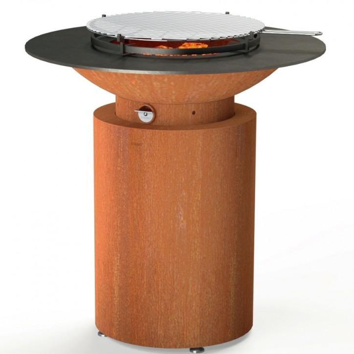 Grill aus Cortenstahl Modell Mathew medium