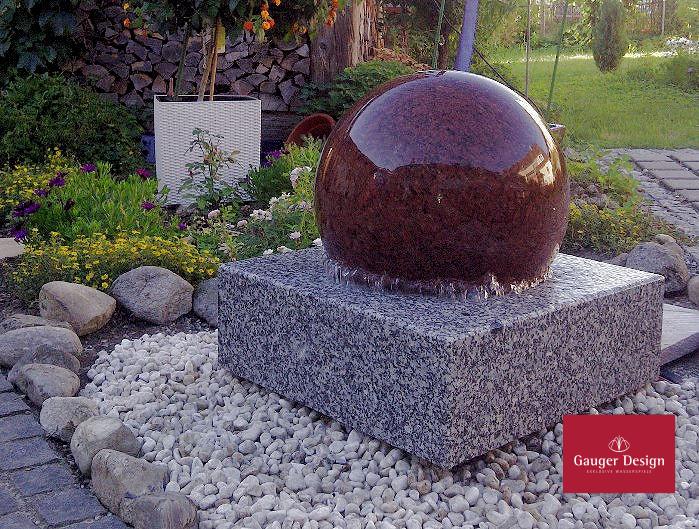 Kugelbrunnen Sonnenschein