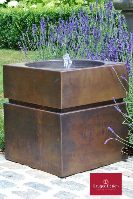 Gartenbrunnen / Terrassenbrunnen Kupfer Alandros