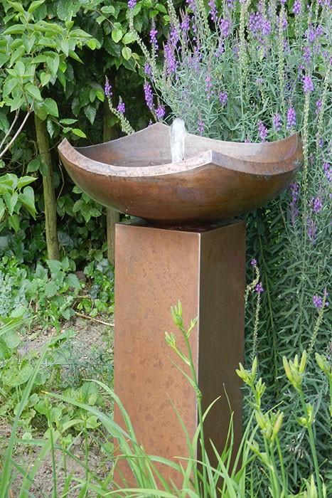 Gartenbrunnen / Terrassenbrunnen Kupfer Marlia