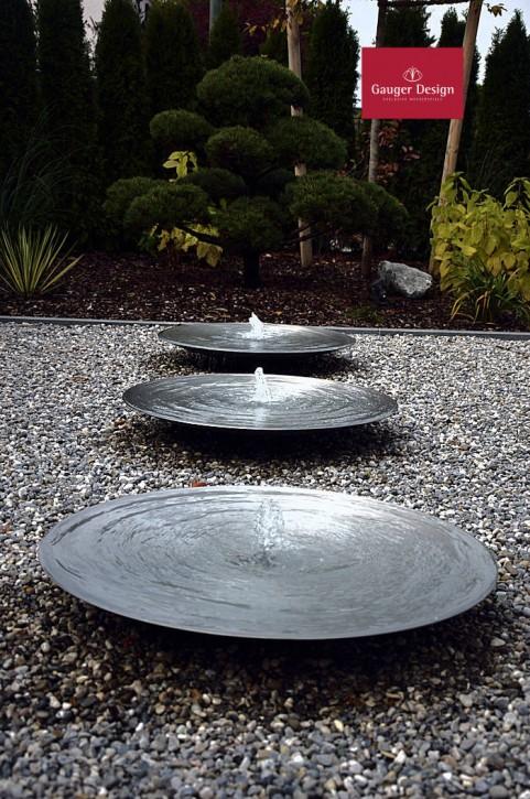 Wasserschalen Edelstahl Trio Samuel