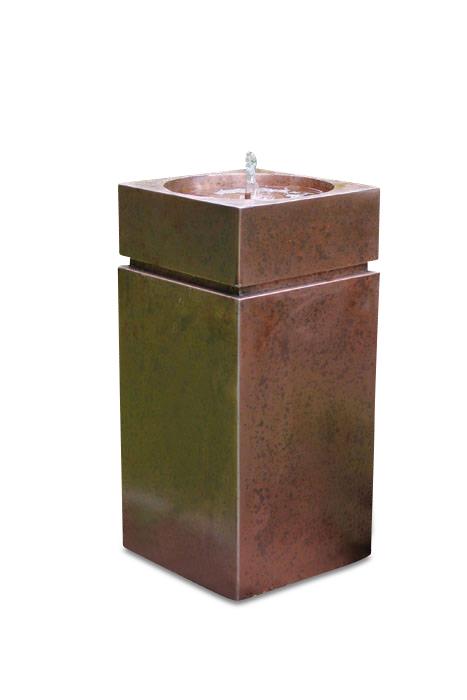 Zimmerbrunnen Kupfer Aleandro