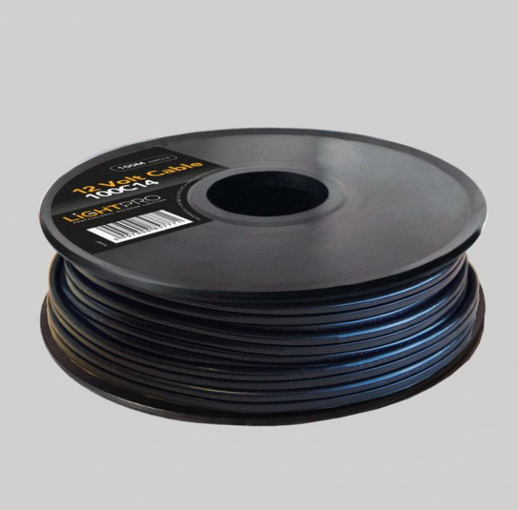 Lightpro Kabel 100m 100C14