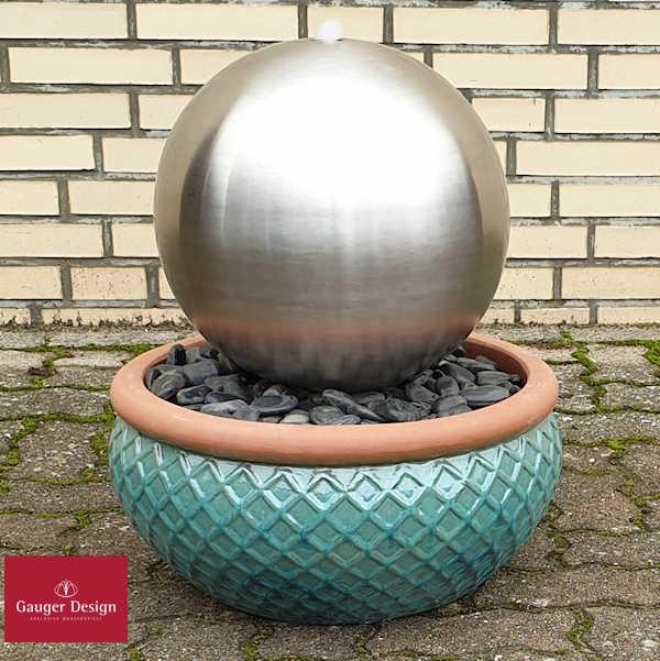 Keramik Terrassenbrunnen Luigi